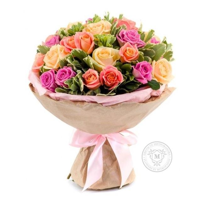 Невесты розы, доставка цветов калуга 1000 недорого